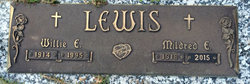 Willie E Lewis