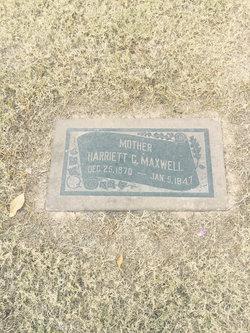 Harriet Christine <I>Gale</I> Maxwell