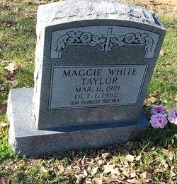 Maggie <I>White</I> Taylor