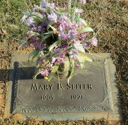 Mary Ann <I>Brown Griffeth</I> Seiter