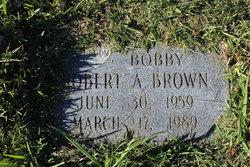 """Robert A. """"Bobby"""" Brown"""