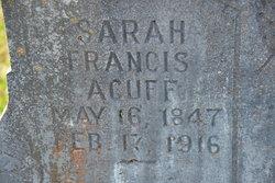 Sarah Francis <I>Mallicoat</I> Acuff