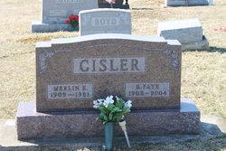 Merlin E. Cisler