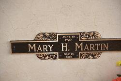 Mary Hazel <I>Hodges</I> Martin