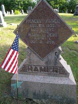 Maria P. <I>Dent</I> Hamer