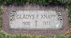 Gladys F <I>Wolfe</I> Knapp