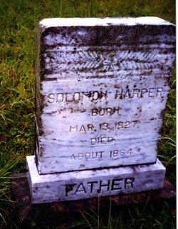 Solomon Harper 1827 1864 Find A Grave Memorial