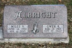 """Gwendolyn R """"Gwen"""" <I>Cakerice</I> Albright"""
