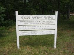 Plains Baptist Church Cemetery