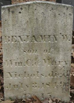 Benjamin W Nichols