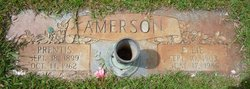 Ellie D <I>Grigsby</I> Amerson