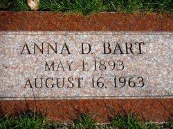 Anna D. <I>Martin</I> Bart