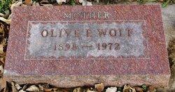 Erma Olive <I>Akers</I> Wolf