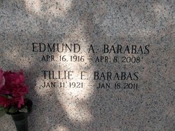 Tillie Emilie <I>Jarolik</I> Barabas