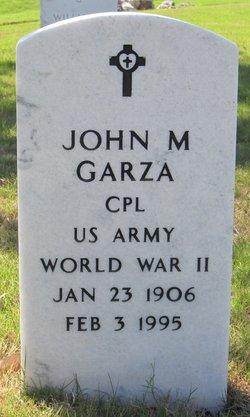 John M Garza