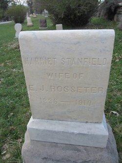 Harriet <I>Stanfield</I> Rosseter