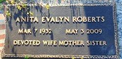Anita Evalyn <I>Hartley</I> Roberts