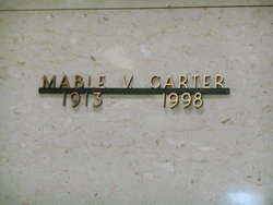 Mable Victoria <I>Falloon</I> Carter