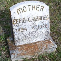 Effie Cordelia <I>Ellis</I> Barnes