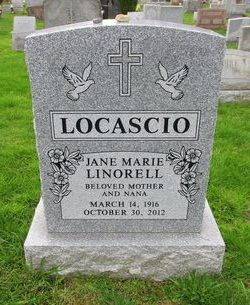 Jane Marie <I>Linorell</I> Locascio