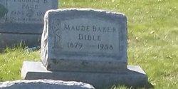 Maude <I>Baker</I> Dible