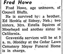 Fred Howe