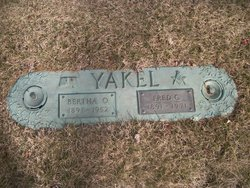 Fred C Yakel