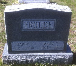 Mary C Froude
