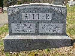 Cora M <I>Fenstermacher</I> Ritter
