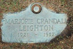 Marjorie <I>Crandall</I> Leighton