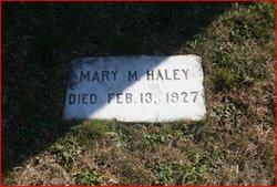 Mary M. Haley