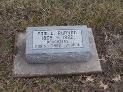 """Thomas Earl """"Tom"""" Runyon"""