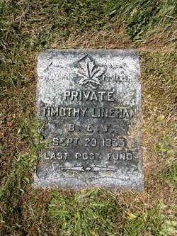 PVT Timothy Linehan