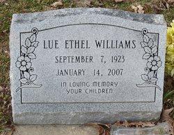 Lue Ethel Williams