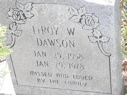 LeRoy W Dawson