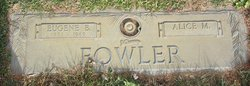Alice Mary <I>Johnson</I> Fowler