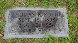 Thomas Kenneth Roehl