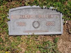 Mary Katherine <I>Frye</I> DeBusk