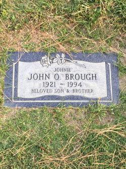 "John O. ""Johnie"" Brough"