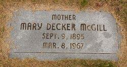 Mary E. <I>Byerly</I> McGill