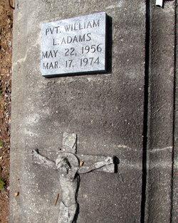 PVT William L Adams