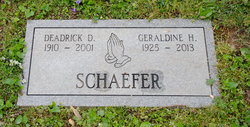 "Deadrick David ""Dink"" Schaefer"