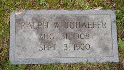 Ralph W. Schaefer