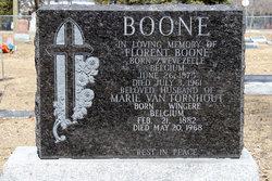 Marie <I>Van Tornhout</I> Boone