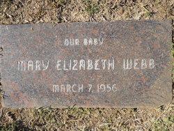 Mary Elizabeth Webb