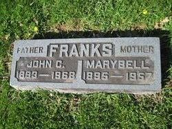 Marybell <I>Hutchens</I> Franks