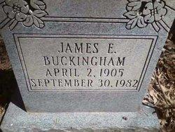 James E Buckingham