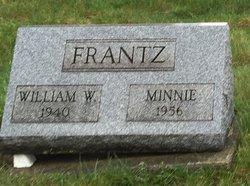Minnie <I>Nickum</I> Frantz