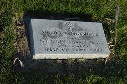 Waldo A. Marshall