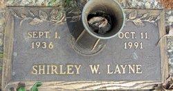 Shirley W. Layne